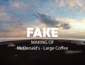 Fake: McDonald's Large Coffee - Making Of